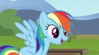 "Rainbow ""Yes, Pinkie Pie!"" S4E21"