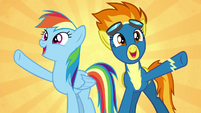 """Rainbow and Spitfire """"soaring higher!"""" S6E7"""