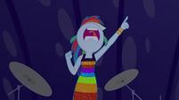 "Rainbow crying out ""Equestrian magic!"" EGSB"
