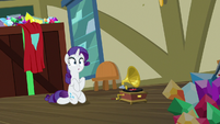 Rarity notices Gabby buried under stuff S9E19