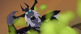 The Storm King reeling back in shock MLPTM