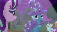 Trixie looking back at Starlight S6E6
