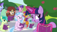 """Twilight Sparkle """"go about your day of fun"""" S8E17"""