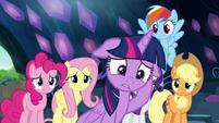 Twilight Sparkle in complete disbelief S9E2
