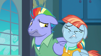 Windy Whistles looking heartbroken S7E7