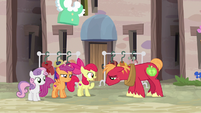 """Apple Bloom """"what can he do that you can't?"""" S7E8"""