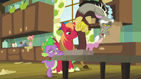 "Discord ""you two certainly have bought into"" S8E10"