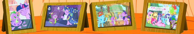 FANMADE S2E21 panorama of Spike's photos