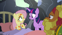 """Fluttershy """"have you heard from Zecora?"""" S7E20"""