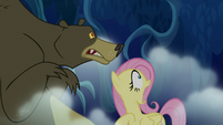 "Fluttershy screaming ""ruuuun!"" S6E15"