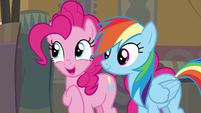 """Pinkie Pie """"all you gotta do is make it right"""" S7E18"""