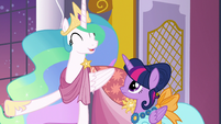 """Princess Celestia """"the most fun Gala in years!"""" S5E7"""