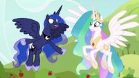 Princess Luna -that was fun!- S9E13