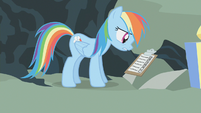 """Rainbow Dash """"Tried that one, tried that one, tried that one..."""" S1E12"""