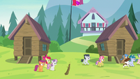 Rumble and campers leave the Crusaders again S7E21