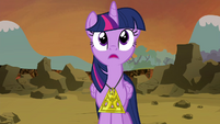 Twilight's pupils turn back to normal S4E26