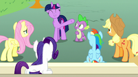 """Twilight """"remind her what she's best at"""" S8E18"""