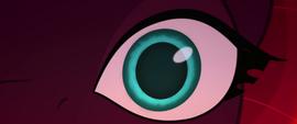 Zoom in on Tempest Shadow's left eye MLPTM
