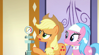 Applejack --if you're not gettin' enough steam-- S6E10