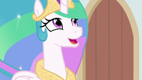 "Celestia ""that special stage pony bond"" S8E7"
