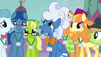Fluffy Clouds -a pony had taken my seat- S5E10