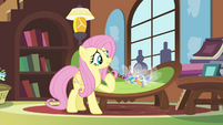 "Fluttershy ""strong enough to face the breeze"" S4E16"