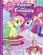 MLP Fashion and Friendship pop-out storybook cover