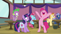 """Pinkie Pie """"makes it even funner!"""" S9E16"""