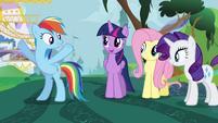 "Rainbow Dash ""the big finish!"" S4E01"