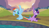 Rainbow Dash does not want to quit S2E22
