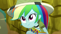 Rainbow Dash feeling confident SS12
