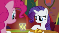 """Rarity """"the food is excellent"""" S6E12"""
