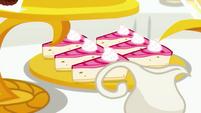 Slices of banana sorbet delight EGSB