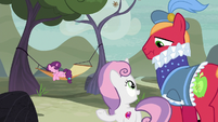 Sweetie Belle -there's nothing more romantic- S7E8