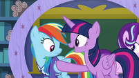 "Twilight Sparkle ""you both are"" S8E17"