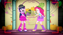 Twilight and Pinkie dressed as Watson and Holmes SS2