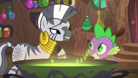 """Zecora """"if I am to be honest"""" S5E22"""