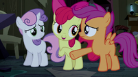Apple Bloom wants to help Trouble Shoes S5E6