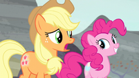 "Applejack ""I'll never get used to that"" S5E2"