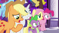 """Applejack """"everything was fine a minute ago!"""" S9E17"""