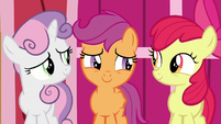 Cutie Mark Crusaders filled with pride S9E12