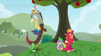"Discord ""Fluttershy's secret fear of clowns"" S9E23"
