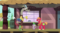 """Discord """"wish I could stay and chat"""" S6E17"""