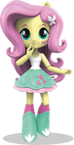 Equestria Girls Minis Fluttershy promo image