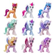 MLP A New Generation Royal Gala Collection set