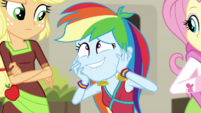 Rainbow Dash having a fangirl moment EGS2
