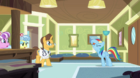 Rainbow Dash making a scene S2E16