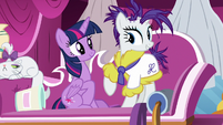 """Rarity """"shine from the outside in"""" S7E19"""