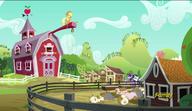 S06E10 Applejack na dachu stodoły