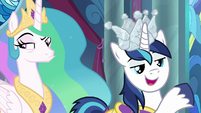 """Shining Armor """"taken the security here"""" S9E4"""